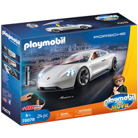 Playmobil 70078 Playmobil The Movie - Rex Dasher's Porsche Mission E