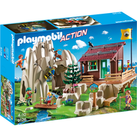 Playmobil 9126 Action Rock Climbers with Cabin - Rock Gifts