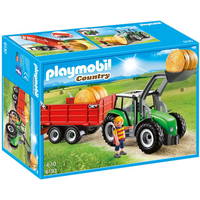 Playmobil 6130 Country Large Tractor with Trailer - Country Gifts