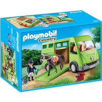 Playmobil 6928 Country Horse Box with Opening Side Door - Country Gifts