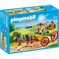Playmobil 6932 Country Horse-Drawn Wagon - Country Gifts