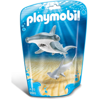 Playmobil 9065 Family Fun Hammerhead Shark with Baby - Fun Gifts