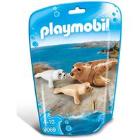 Playmobil 9069 Family Fun Seal with Pups - Fun Gifts