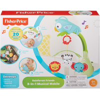 Fisher-Price Rainforest Friends 3-in-1 Musical Mobile - Mobile Gifts