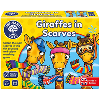 Giraffes In Scarves Game - Giraffes Gifts