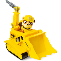 Paw Patrol Figure and Vehicle - Rubble and Bulldozer