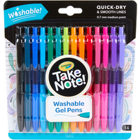 Crayola Take Note 12 Pack Washable Gel Pens - Crayola Gifts
