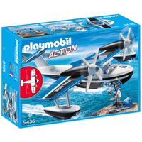 Playmobil City Action Floating Police Seaplane - 9436 - Playmobil Gifts
