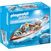 Playmobil Family Fun Floating Speedboat - 9428