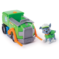 Paw Patrol Rocky's Transforming Recycle Truck with Pop-out Tools and Moving Forklift - Tools Gifts