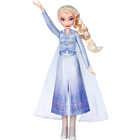 Disney Frozen 2 Singing Doll with Light-Up Dress - Elsa - The Entertainer Gifts