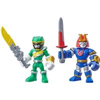 Playskool Power Rangers Figures - Green Ranger and Ninjor - Power Rangers Gifts