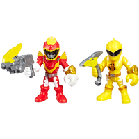 Playskool Power Rangers Figures - Red Ranger and Yellow Ranger - Rangers Gifts