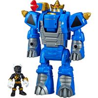Playskool Power Rangers - Black Ranger and Rhino Power Zord - Power Rangers Gifts