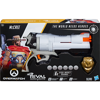 Overwatch McCree Nerf Rival Blaster - Nerf Gifts