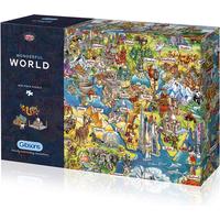 Gibsons Wonderful World 1000pc Jigsaw Puzzle - Jigsaw Puzzle Gifts