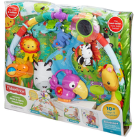 Fisher Price Rainforest Music and Lights Deluxe Gym - Fisher Price Gifts