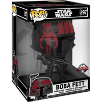 Funko Pop! Star Wars - 25cm Boba-Fett Bobble-Head (UK Exclusive)