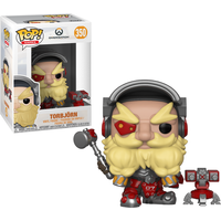 Funko Pop! Games: Overwatch Series 4 - Torbjörn - Games Gifts