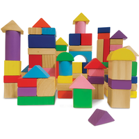 Woodlets 80 Piece Building Blocks - Building Gifts