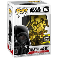 Funko Pop! Star Wars: Chrome Darth Vader - 2019 Galactic Convention - Chrome Gifts