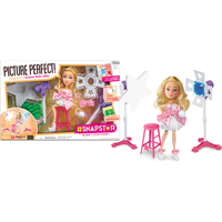 Image of Snapstar Photo Studio and 25cm Doll