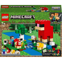 LEGO Minecraft The Wool Farm - 21153 - Minecraft Gifts