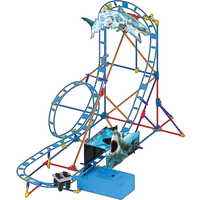 K'NEX Shark Attack Roller Coaster Building Set - Knex Gifts
