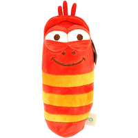 Larva 30cm Plush Toy - Red - Red Gifts