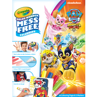 Paw Patrol Mighty Pups Crayola Color Wonder Mess Free Book