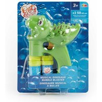Click to view product details and reviews for Out About Musical Dinosaur Bubble Blaster.