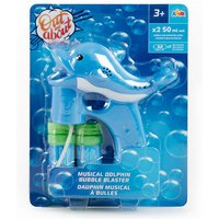Click to view product details and reviews for Out About Musical Dolphin Bubble Blaster.