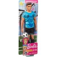 Barbie Ken Career Doll - Soccer Player - Soccer Gifts