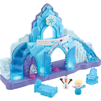 Fisher Price Little People Disney Frozen Elsa's Ice Palace - Fisher Price Gifts