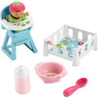 Fisher-Price Little People Snack & Snooze Playset