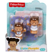 Fisher-Price Little People Snuggle Twin Figures - Unicorn Twins