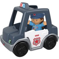Fisher-Price Little People Vehicle and Figure - Police Man