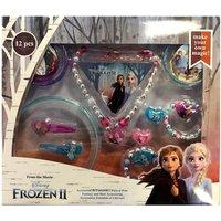 Disney Frozen 2 Fantasy & Hair Accessories Set - 12 Pack