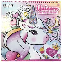 Jacks Unicorn Colouring and Sticker Book