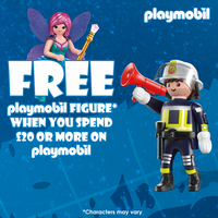Playmobil Figure Giveaway Promotion