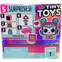 L.O.L. Surprise! Tiny Toys Collect To Build A Tiny Glamper (Styles Vary)