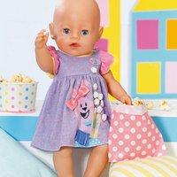 'Baby Born 43cm Doll Dress - Purple