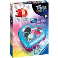 Ravensburger DreamWorks Trolls World Tour Heart Shaped 3D Puzzle - 54pcs.