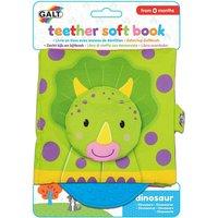 Galt Teether Soft Book - Dinosaurs