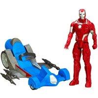 Marvel Avengers Initiative - Iron Man Figure with Battle Racer