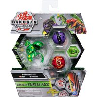 """""""Bakugan Armored Alliance Starter Pack Trading Card and Figures - Dragonoid, Trox and Hydorous"""""""