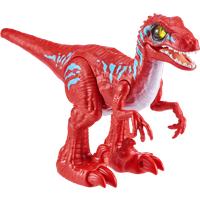Robo Alive Rampaging Raptor Dinosaur - Red