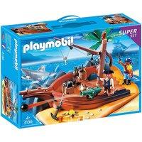 Playmobil Pirate Island Superset - 4136