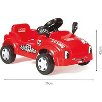 Click to view product details and reviews for Dolu Pedal Racer Smart Car Ride On Red.