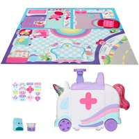Kindi Kids Hospital Corner Unicorn Ambulance Playset